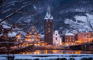 Bernkastel Ufer im Winter